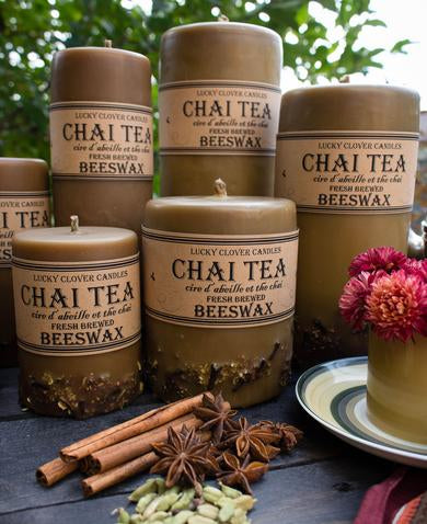 Chai Beeswax Candles