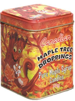 Maple Tree Droppings