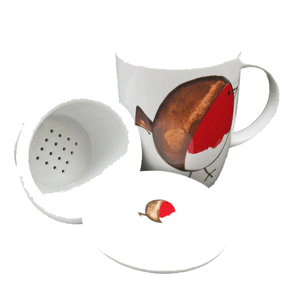 Bird Mug/Strainer/Cover
