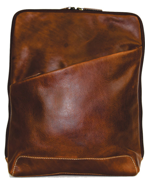 Leather Backpack (Style 199024)