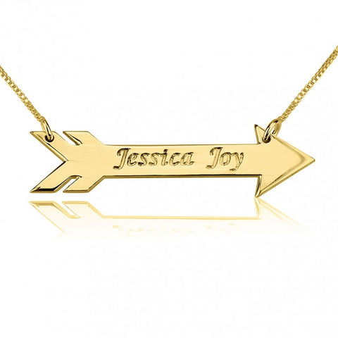 Arrow Style Necklace