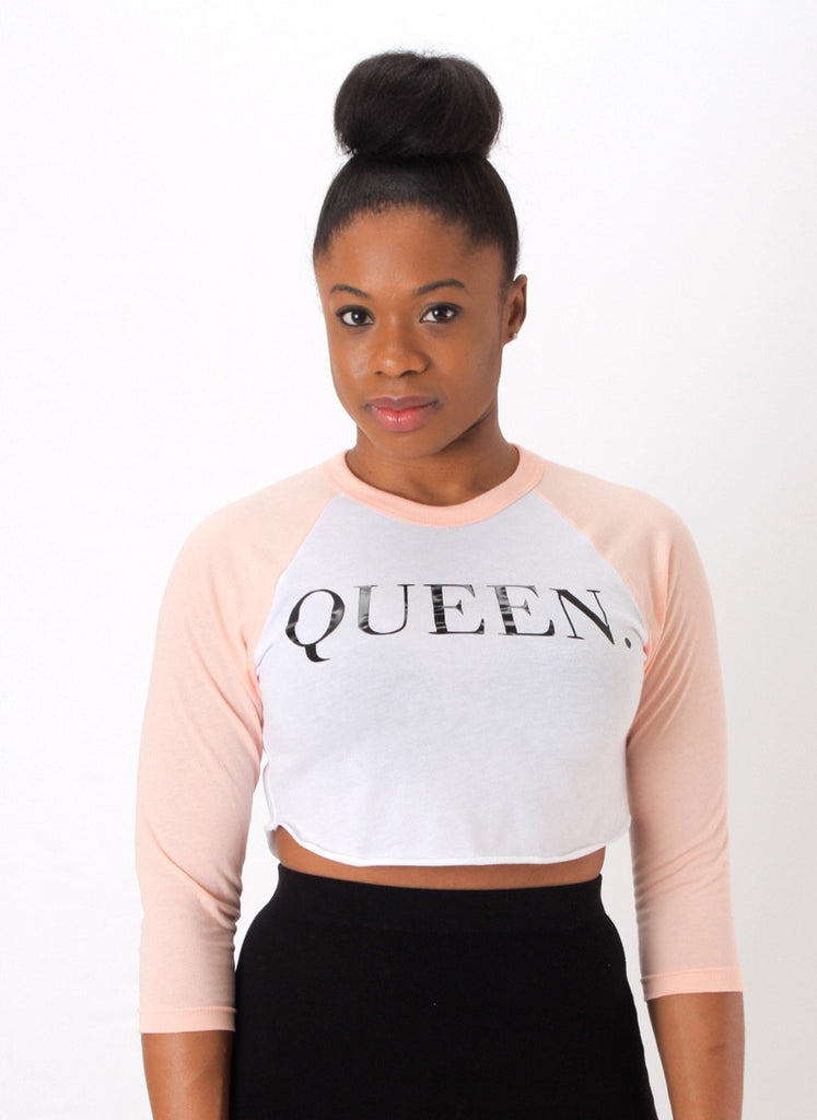 Queen Raglan Crop