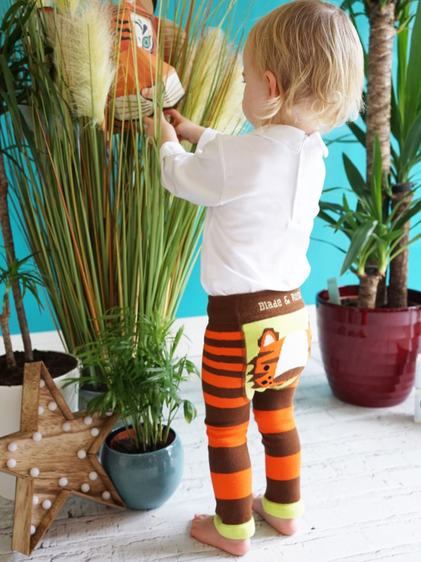 Blade and Rose Organic Tiger  Leggings