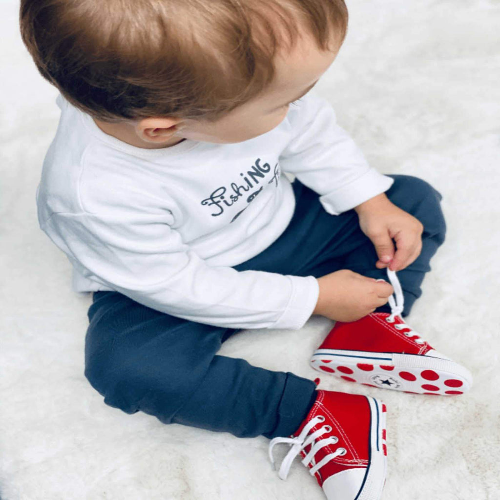 BABY LACE UP SNEAKERS