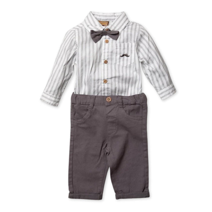 Baby boy formal outfit set
