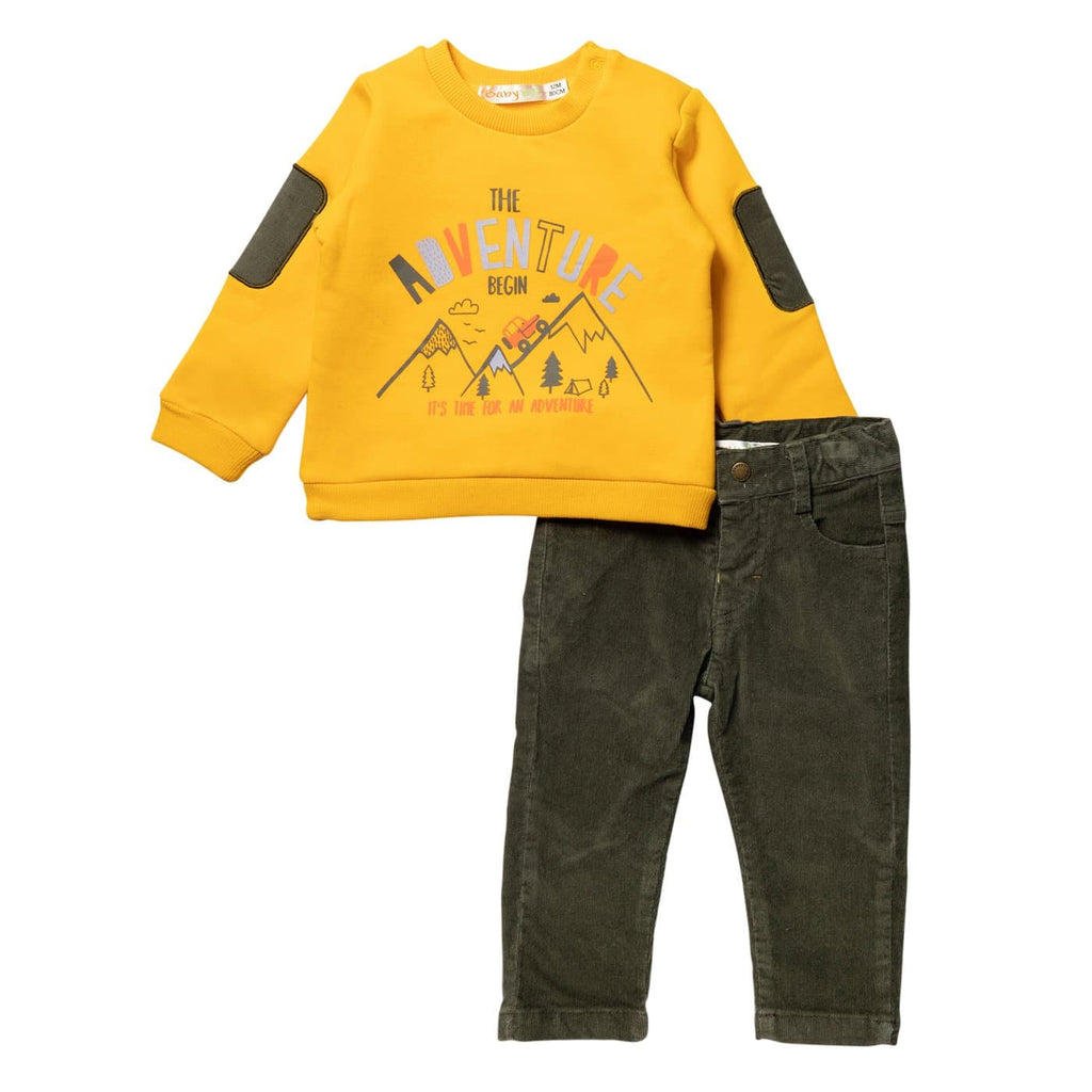 Baby Boy Smart Casual Outfit Set
