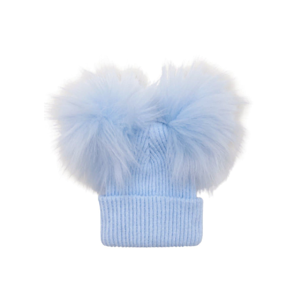 British Made Baby Bobble Pom Pom Hat at Baby Iconic Studio UK