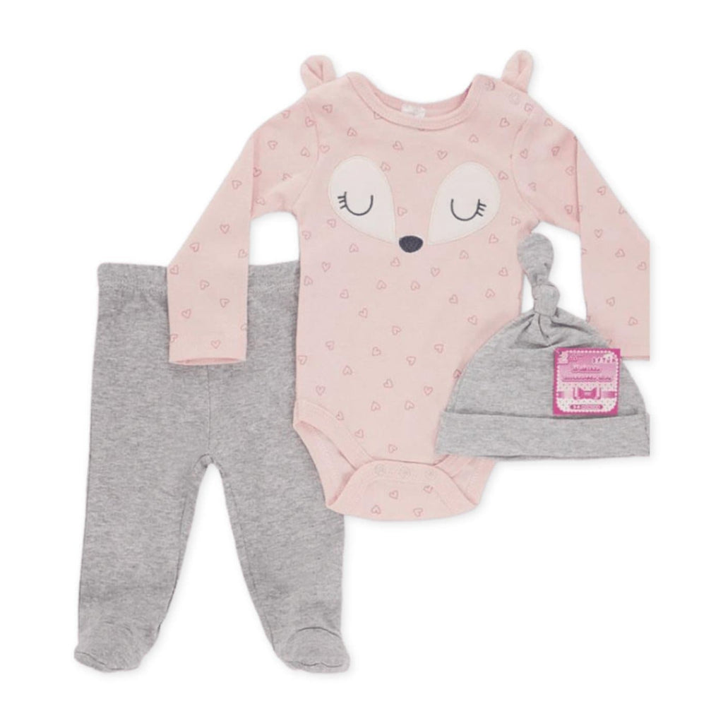 Baby Girl Bodysuit Outfit Set