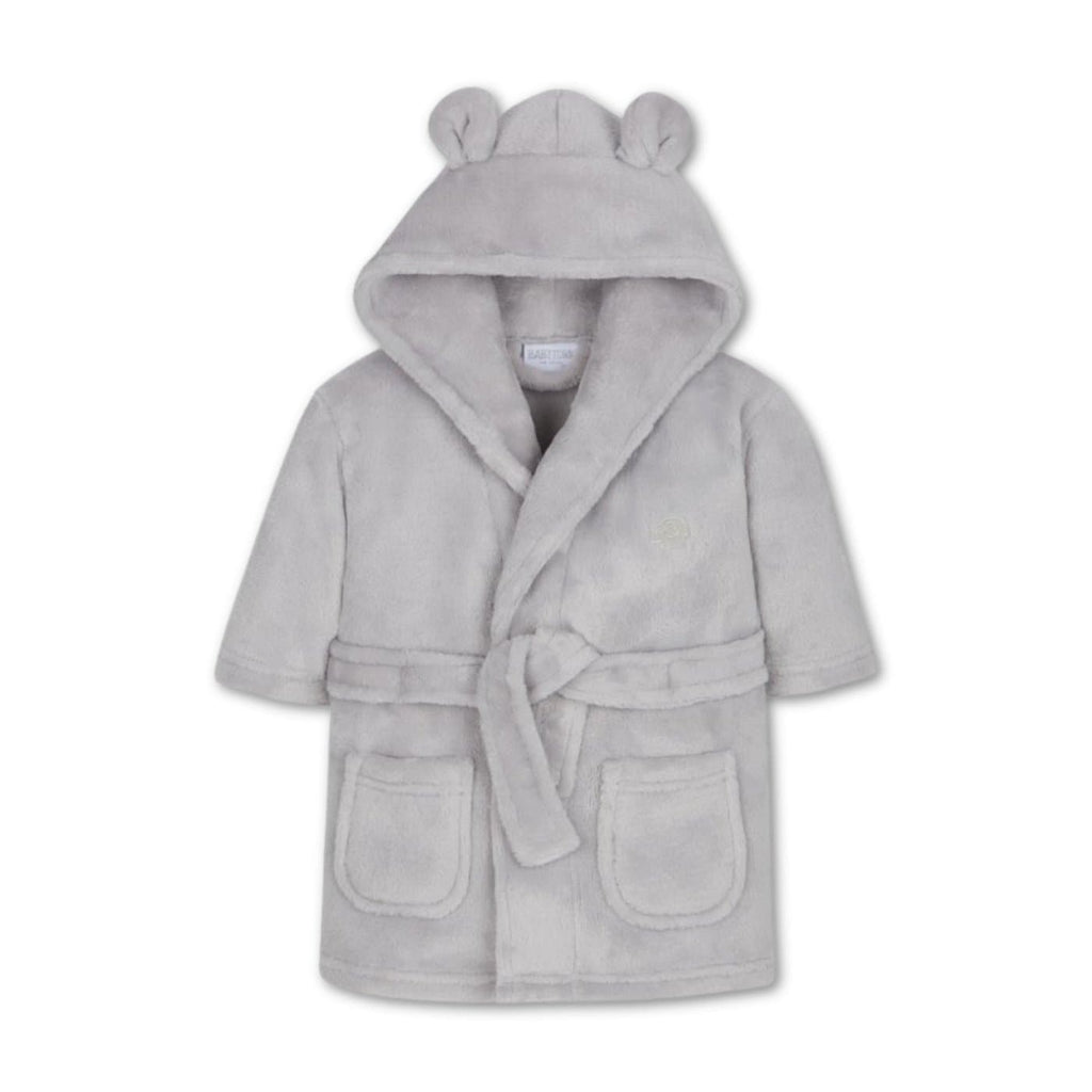 Baby Grey Dressing Gown