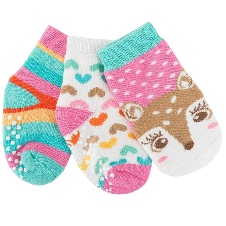 BABY COZY SOCKS in MULTIPACK of 3