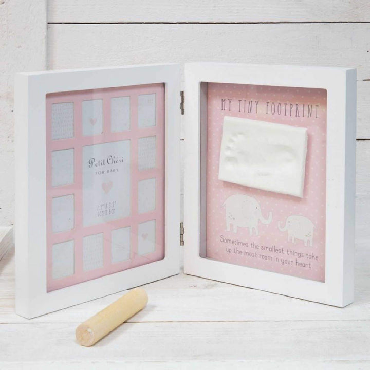 BABY HAND & FOOT PRINT & PHOTO FRAME