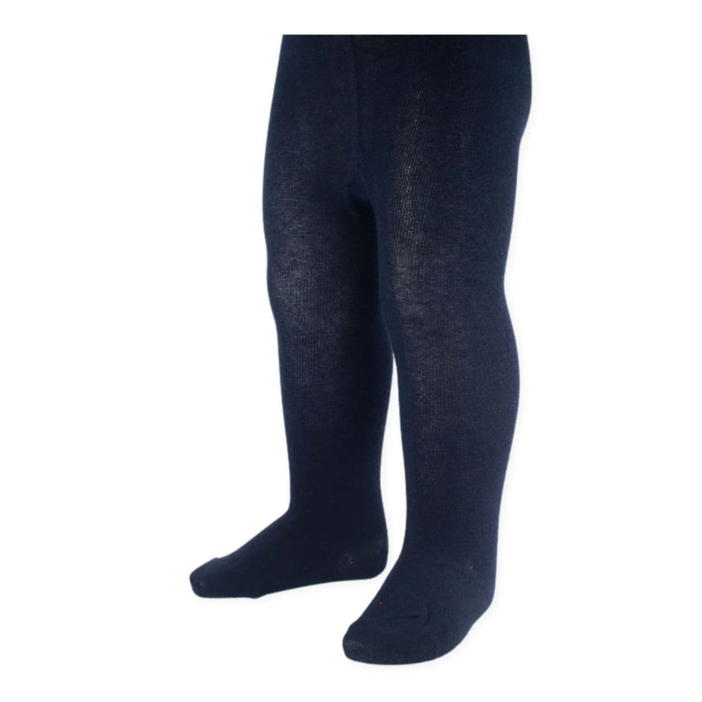 Baby Navy Tights