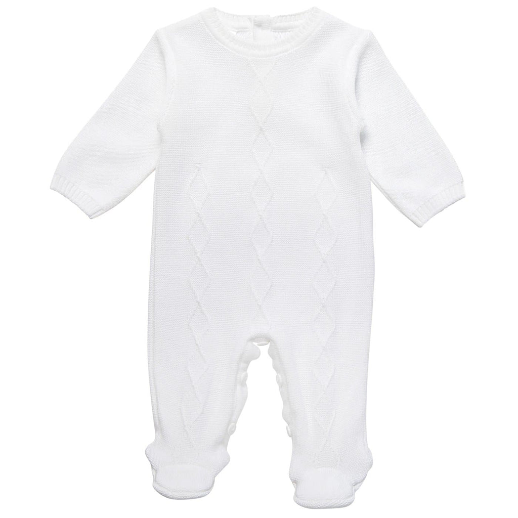 Baby Knitted All In One Romper