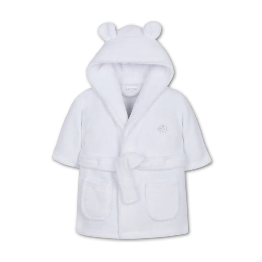 Baby White Dressing Gown