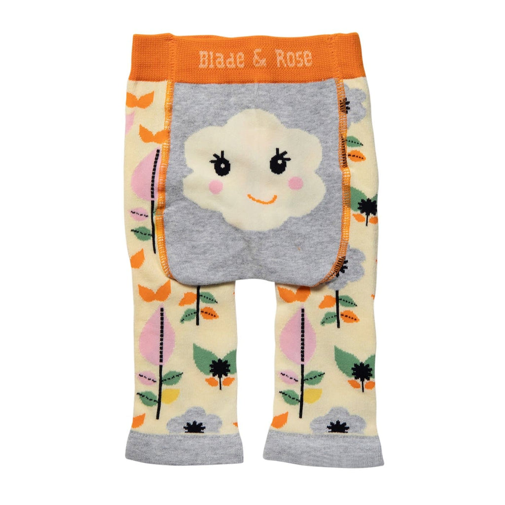 Flower Face Leggings by Blade and Rose