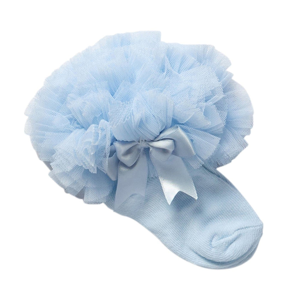 Frilly Bow Baby Socks
