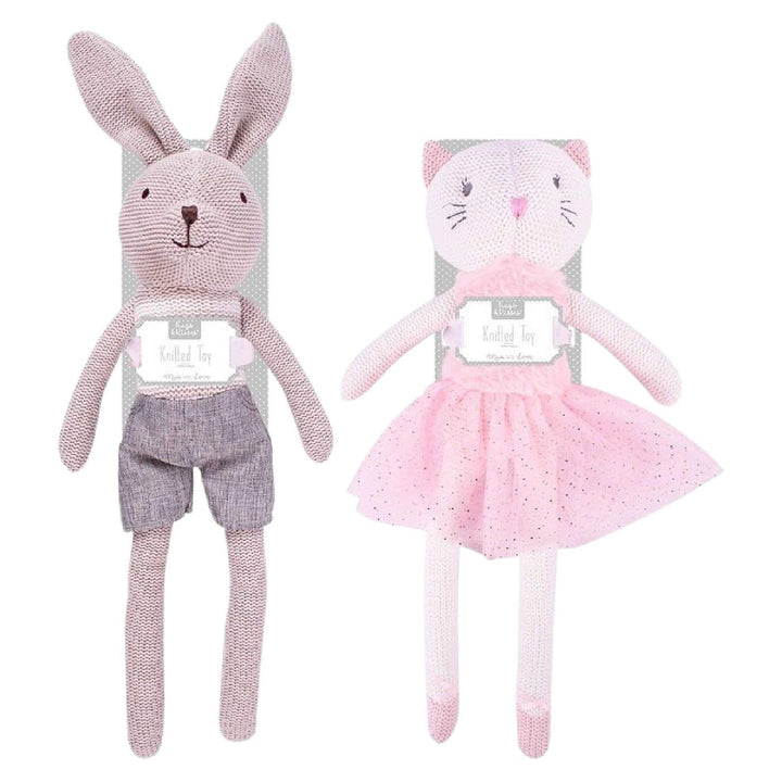 BABY KNITTED SOFT TOY