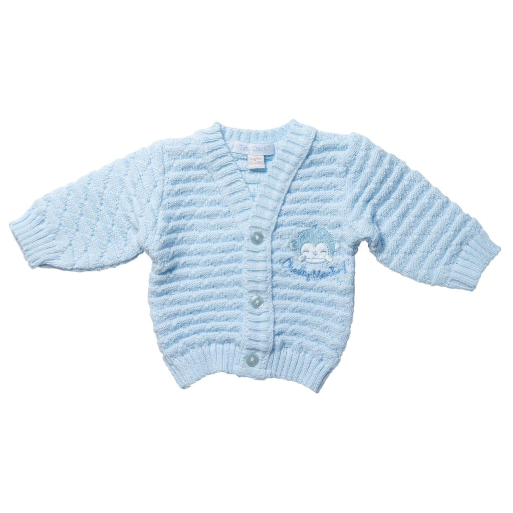 Tiny Baby Blue Cardigan