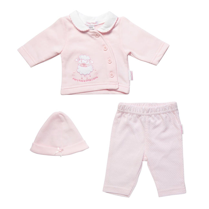 Tiny Baby Pink Outfit