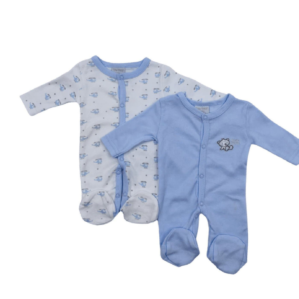 Premature Baby Set of Sleepsuits