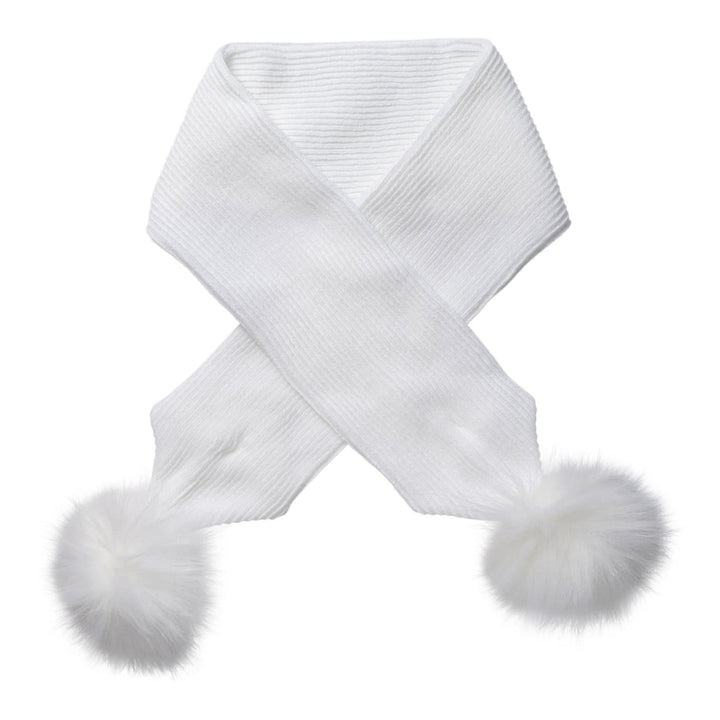 White Baby Scarf