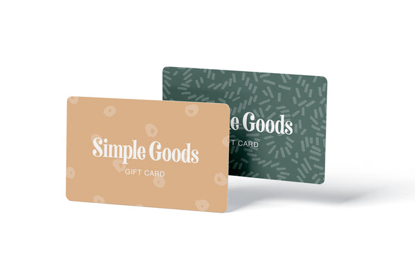 SIMPLE GOODS GIFT CARD