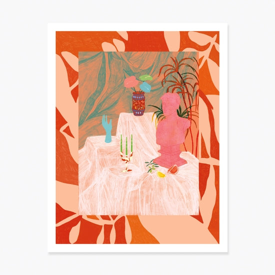 PICTURES OF THE GONE WORLD ART PRINT