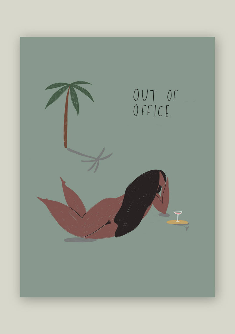 OUT OF OFFICE CARD