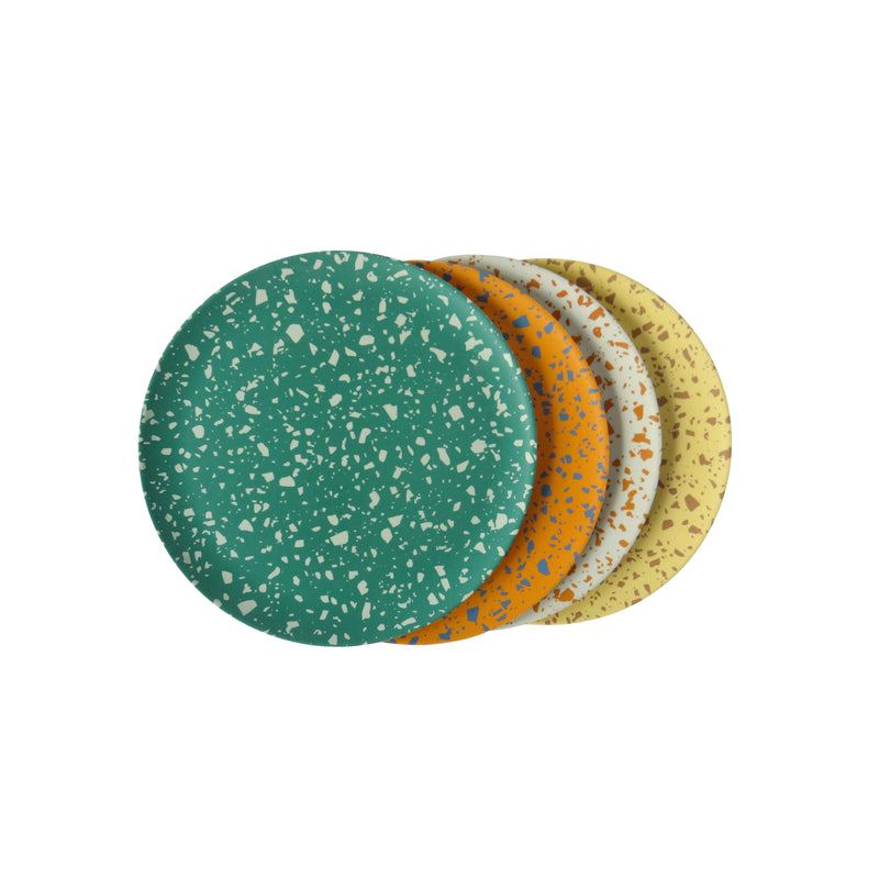 Terrazzo Side Plates - 4 set assorted