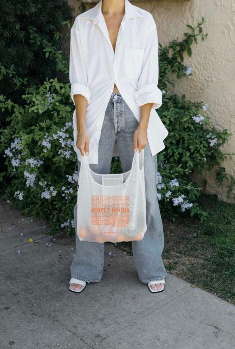 SIMPLE GOODS X JUNES REUSABLE BAG