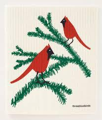 CARDINALS SWEDISH DISHCLOTHS