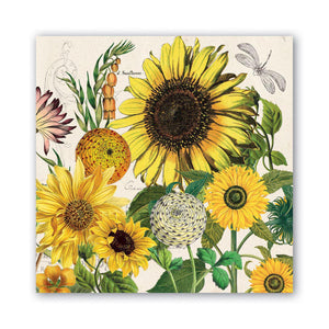 SUNFLOWER LUNCHEON NAPKINS NAPL350