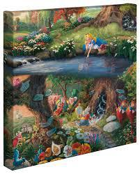 ALICE IN WONDERLAND 14X14 69022