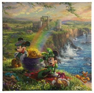 IRELAND MICKEY & MINNIE  14X14 87926