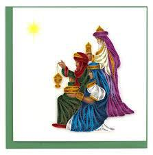 THREE WISE MEN CARD QUILLING HD637