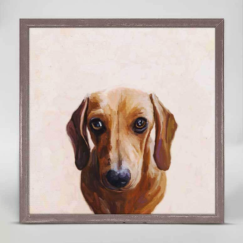 LOOKING FOR COOKIES BEST FRIEND MINI FRAMED CANVAS