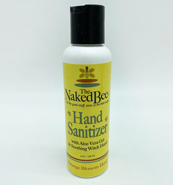 SANITIZER ORANGE BLOSSOM HONEY 4OZ NBSAN-B4
