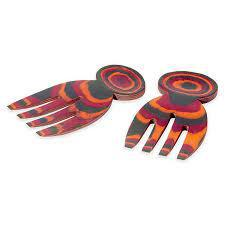 RAINBOW PAKKA SALAD HANDS 41036
