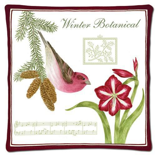 WINTER BOTANICAL SPICED HOT PAD 12-329