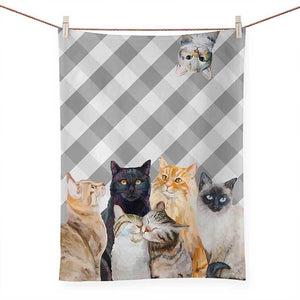 Feline Friends - Cat Bunch | Tea Towels - 21x28 NB96698
