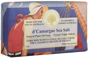d'CAMARGUE SEA SALT SOAP 7oz BAR