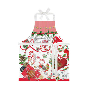 PEPPERMINT CHILDS APRON APRC347