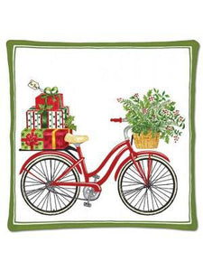 BICYCLE XMAS SPICED HOT PAD 12-335