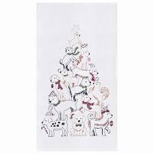 PUPPY TREE TOWEL 86171116