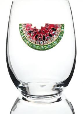 WATERMELON STEMLESS WINE GLASS 0600-006-200