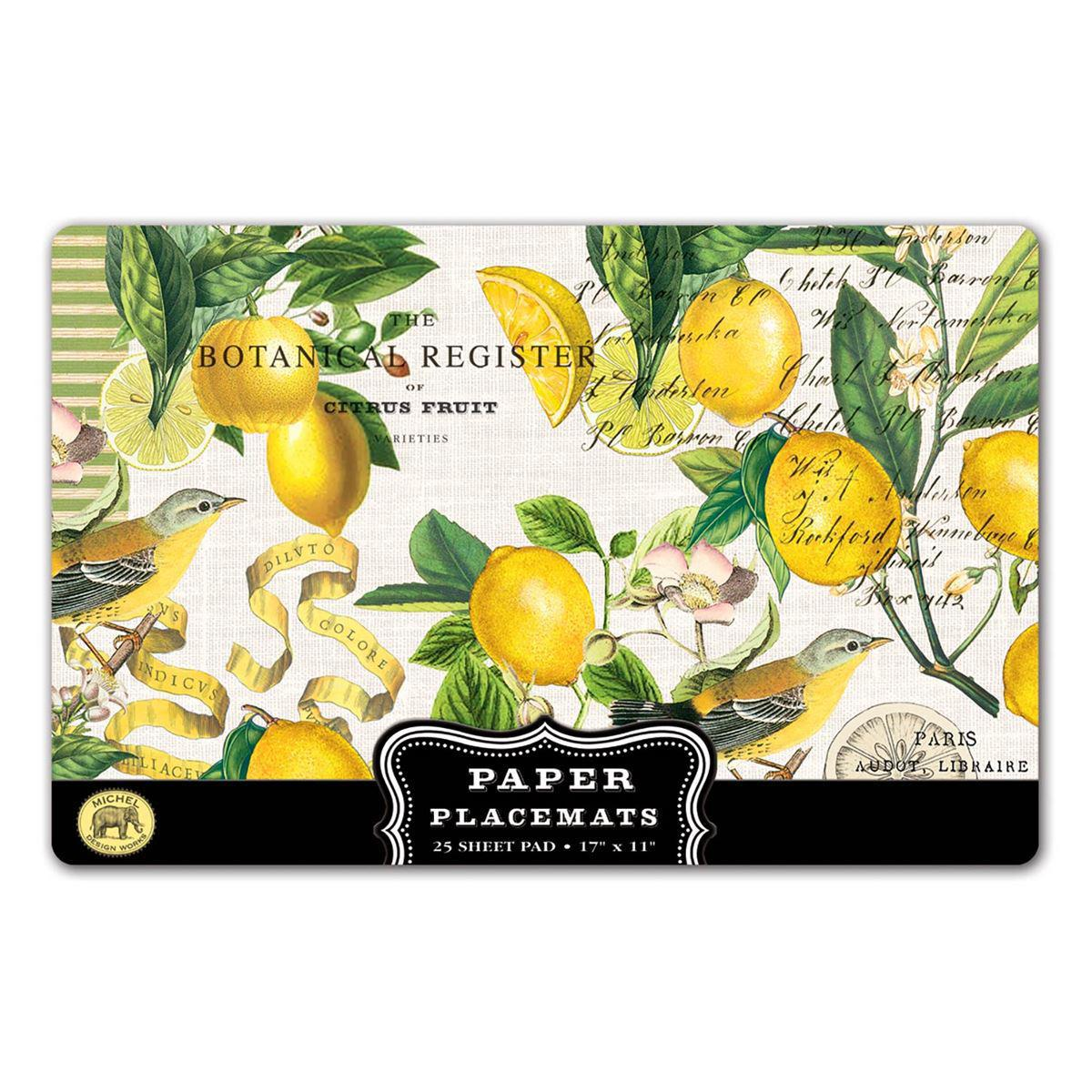 LEMON BASIL PLACEMATS PM8