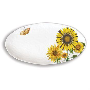 SUNFLOWER OVAL PLATTER SWPO350