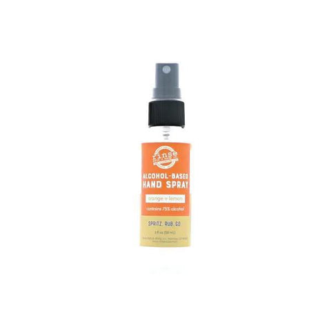 ORANGE LEMON ALCOHOL HAND SANITIZER 68OL