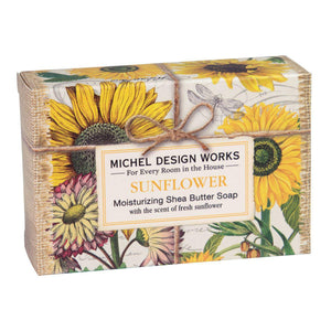 SUNFLOWER BOXED SOAP 4.5OZ SOAX350