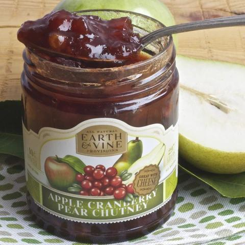 APPLE CRANBERRY PEAR CHUTNEY